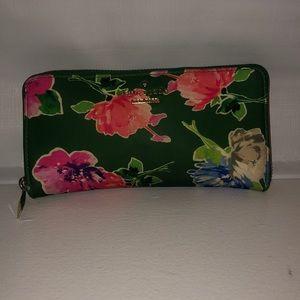 Nylon Floral Wallet